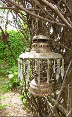 Now I know what I want to do with that old red lantern!