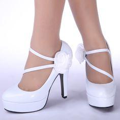 white high heels - Google Search