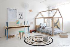 Lit Maison Bonnesoeurs® - Une structure idéale sur laquelle chaque enfant peut laisser libre court à son imagination