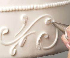 Λευκό γλάσο (Royal icing)