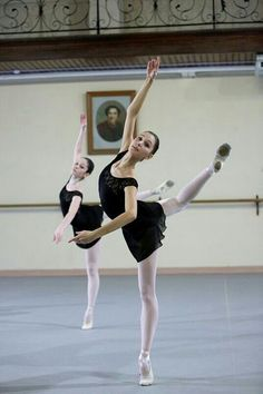 Ballet is not pink tutus or tippy toes it is about hard work dedication and very hard physical work!