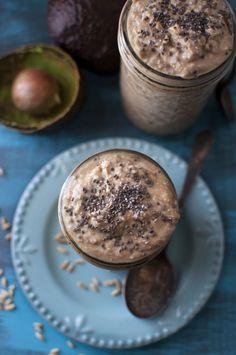 Creamy Avocado Oats: The Power Breakfast - The Organic Dietitian