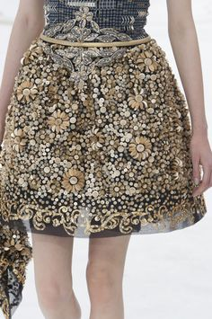 300 details photos of Chanel at Couture Fall 2014.