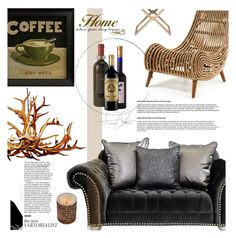 """Rustic Home"" by lisannevicious ❤ liked on Polyvore featuring interior, interiors, interior design, home, home decor, interior decorating, Universal Lighting and Decor, Match and rustic"