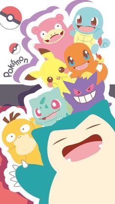 Pokemon Ash Ketchum, Cute Pokemon Wallpaper, Kawaii Wallpaper, Cartoon Wallpaper, Pokemon Go, Pokemon Fan Art, Pokemon Mignon, Cute Kawaii Drawings, Pokemon Pictures