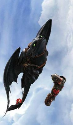Toothless Dragon, Hiccup And Toothless, Hiccup And Astrid, Dreamworks Animation, Disney And Dreamworks, Night Fury Dragon, Httyd Dragons, How To Train Dragon, Mythical Creatures Art