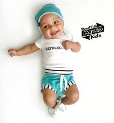 Liam - 6 Months • Italian & Jamaican ♥️ FOLLOW @BEAUTIFULMIXEDKIDS http://instagram.com/beautifulmixedkids