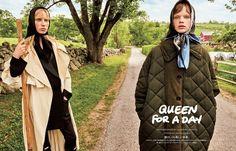 Vogue Japan September 2017 Estella Boersma and Jessie Bloemendaal by Giampaolo Sgura - Fashion Editorials