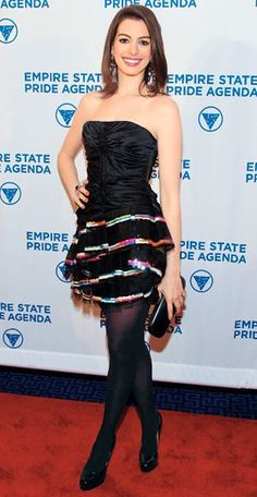 200 Celebrity Looks We Love - Anne Hathaway in Marc Jacobs, 2009 from #InStyle