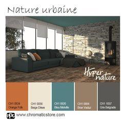 N'hésitez pas à intégrer la #couleur au #plafond : originalité garantie! www.chromaticstore.com