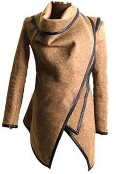 Gender: Women Item Type: Hoodies,Sweatshirts Clothing Length: Long Fabric Type: Broadcloth Hooded: No Collar: Turn-down Collar Sleeve Length: Full Pattern Type: Solid Sleeve Style: Regular Style: Fash