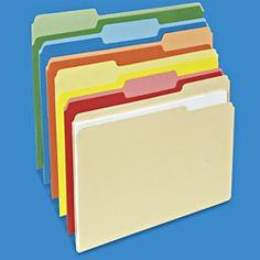 colored file folders manila file folders in stock uline