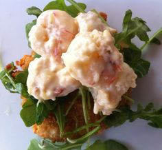Fried Green Tomato with Shrimp Remoulade