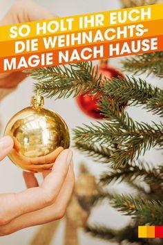 In der Weihnachtszeit liegt ein ganz besonderer Zauber in der Luft. Doch wie erhält man sich die weihnachtliche Vorfreude in Zeiten von Social-Distancing und Mund-Nasen-Schutz? Wir haben ein paar Tipps für euch, wie ihr euch die Weihnachtsmagie ganz einfach zu euch nach Hause holt. #libroat #Weihnachten #magie #christmas #advent #christmastime #weihnachtszeit Advent, Christmas Bulbs, Holiday Decor, Home Decor, Christmas Time, Couple, Ad Home, Christmas, Simple