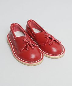 Red Slip-On Shoe by L'Amour Shoes on #zulily