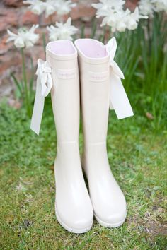 Wedding Rain boots - especially great for those getting married here in WA state.