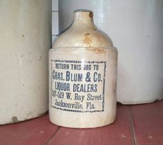 Hey, I found this really awesome Etsy listing at https://www.etsy.com/listing/471191204/chas-blum-co-whiskey-crock-jug