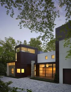 Exterior, front. Crab Creek House, by Robert Gurney Architect. Annapolis, Maryland. #exterior