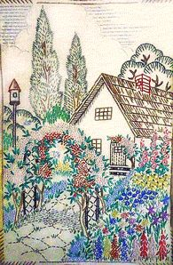 embroidery fairy and garden - Google Search