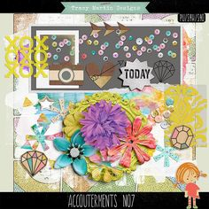 Quality DigiScrap Freebies: Accouterments No 7 freebie from Tracy Martin Designs