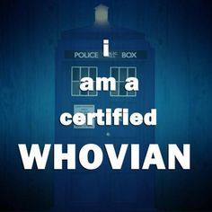 certified whovian