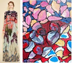 Splash Connect:- Valentino - Resort 2016 - Playful take on Patchwork Mashups Valentino Resort, Connection, Runway, Palette, Style Inspiration, Inspired, Painting, Color, Design