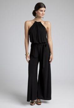 Dressy Pants - Chiffon Jumpsuit from Camille La Vie and Group USA CHIFFON JUMPSUIT $129.99