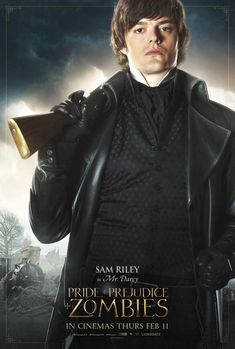 Pride and Prejudice and Zombies Mr. Darcy Poster - Sam Riley