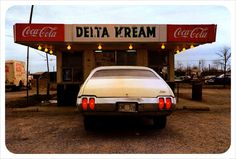 William Eggleston photograph. Delta Kream/Delta Dream