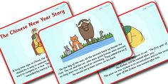 Twinkl Resources >> Chinese New Year Story Powerpoint >> Printable resources for Primary, EYFS, KS1 and SEN.  Thousands of classroom displays and teaching aids! Topics, Chinese New Year, Stories, Powerpoints