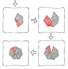 (2 of 2) swarm Instruction by Maria Thomas, Zentangle Founder