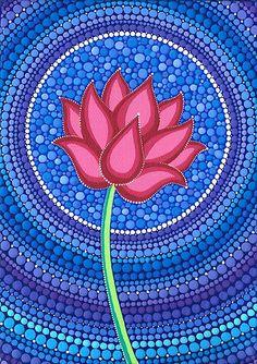 Calma Splendid Lotus Flower porción Elspeth McLean