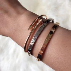 cartier juste un clou bracelet - Trend 2019 Jewelery High Jewelry, Luxury Jewelry, Custom Jewelry, Jewelry Rings, Jewelery, Vintage Jewelry, Geek Jewelry, Jewelry Model, Gothic Jewelry