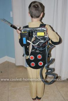 Coolest Ghostbusters Costume : ghostbuster costume for kids  - Germanpascual.Com