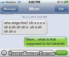 does it make me old that I know what song this mom is talking about?? The right stuff!!! NKOTB =)