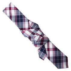 Merona® Men's Navy Plaid Tie : Target