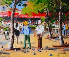 87a les boules vga Saint Tropez, Caricature, Provence, Rue, Recherche Google, Silhouettes, Images, Paintings, Abstract