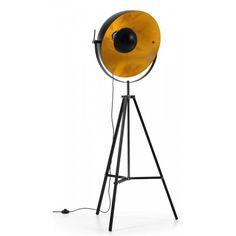 Parker Vloerlamp - Tripod - Zwart- LaForma - DesignOnline24