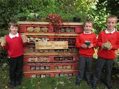 School category winner is Whitchurch Primary School in Bristol. Pupils will receive a wildlife gardening bundle worth £300, including hedgehog houses, bird feeders, bat boxes and much more for their school grounds.