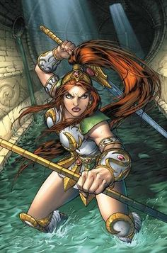 Teela from the Masters of the Universe