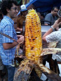Perfectly roasted corn at the GSU BBQ: Orientation Celebration 12