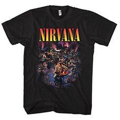 Nirvana - Live Concert Photo - Adult T-Shirt - 2XL