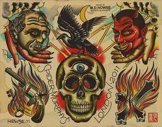 THE BOLD WILL HOLD   hockey-teeth:  Matt Howse - Spider Murphys Tattoo