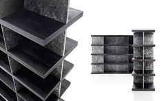 Living Room Bookcase - Marble Living Room Bookcase | Kreoo
