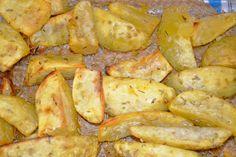 Batatas com alecrim no forno