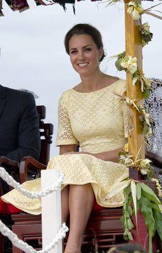 Kate Middleton's Tour of Asia  / Photo by Keystone Press