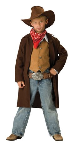 Image detail for -Deluxe Rawhide Renegade Cowboy Costume - Cowboy Costumes