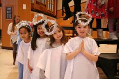 Christmas Program - truly angels Christmas Program, Catholic School, Art Programs, Tree Branches, Art Pieces, Angels, How To Make, Fashion, Moda