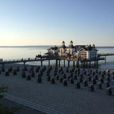 Seebrücke Sellin auf Rügen - Ostsee