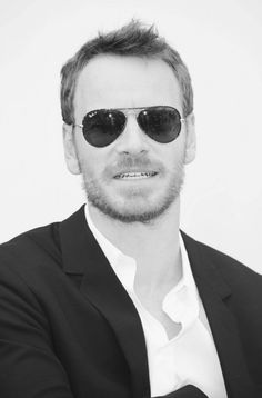 Michael Fassbender in sunglasses at the Cannes Film Festival